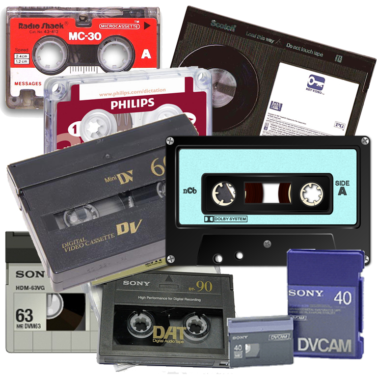Various Analog Tapes